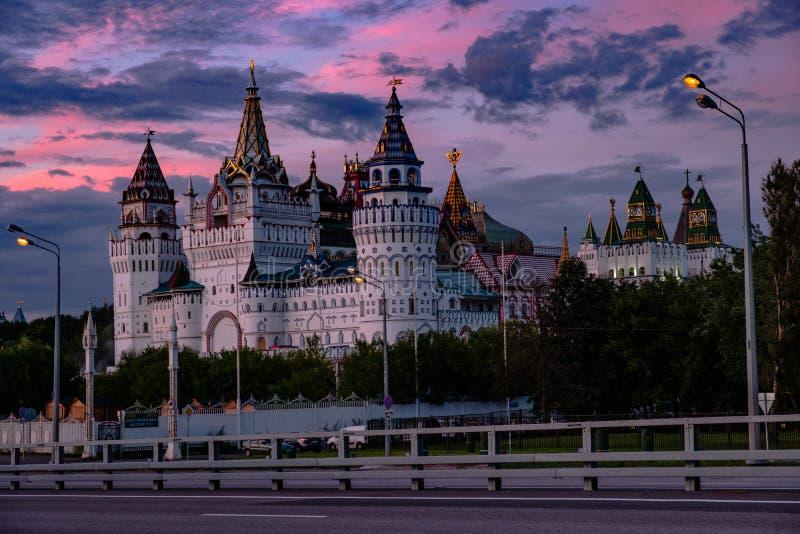 MOSCOU, RUSSIE - 6 AOÛT 2018 : Belle vue de Kremlin I photos stock