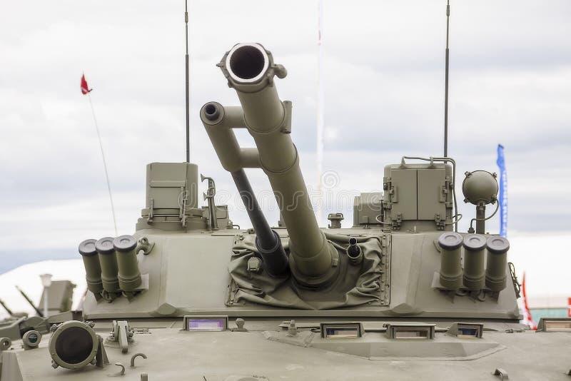 Moscou Russie 30. 06. Cannon avec tour 2019. V?hicule de combat d'infanterie photographie stock