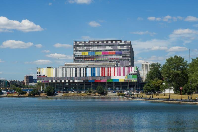 Moscou, Russie - 24 juin 2019 : Centre technique Ostankino de télévision à Moscou photographie stock libre de droits