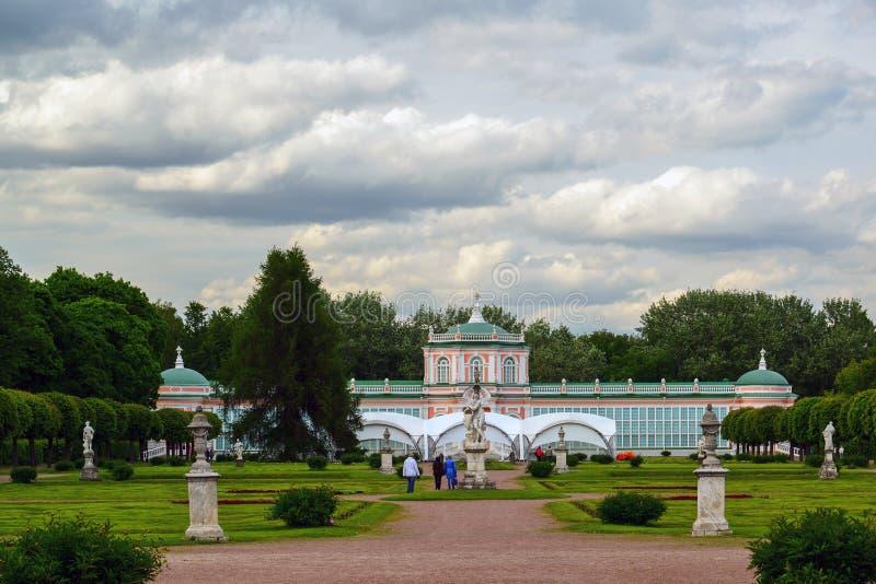 Moscou, Russie - 6 juin 2016 Parc français régulier dans le domaine Kuskovo, le musée photo stock