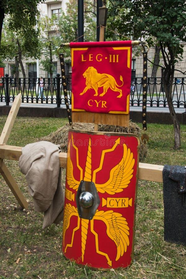 Moscou, Russie - juin 2019 : Temps et époques historiques de festival Reconstruction de la vie et des guerres photographie stock