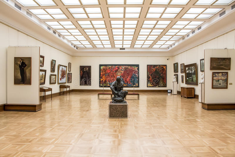 MOSCOU, RUSSIE, la galerie de Tretyakov d'état photos stock