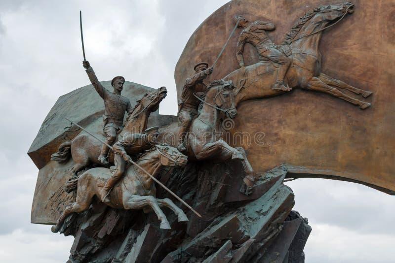 Moscou, Russie - 22 mars 2018 : Monument aux héros de la première guerre mondiale en Victory Park photos stock