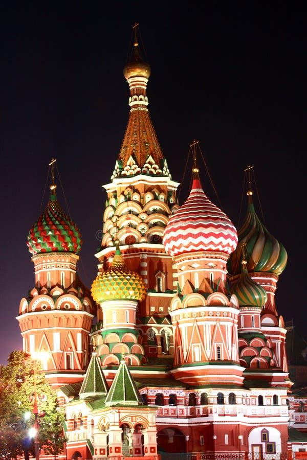 Moscou sur la zone rouge photos stock