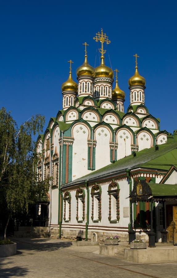 Moscovo, igreja de St. Nikolas fotografia de stock royalty free