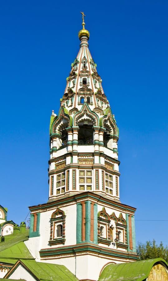 Moscovo, igreja de St. Nikolas fotografia de stock