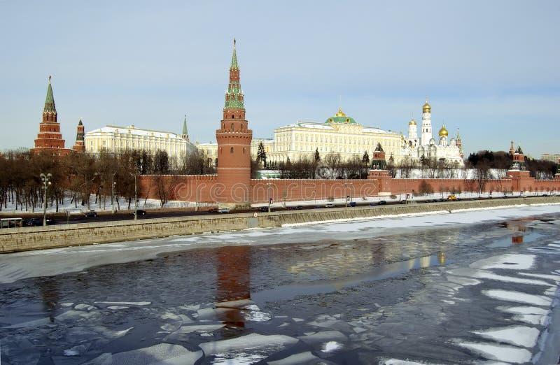 A Moscovo Kremlin imagens de stock