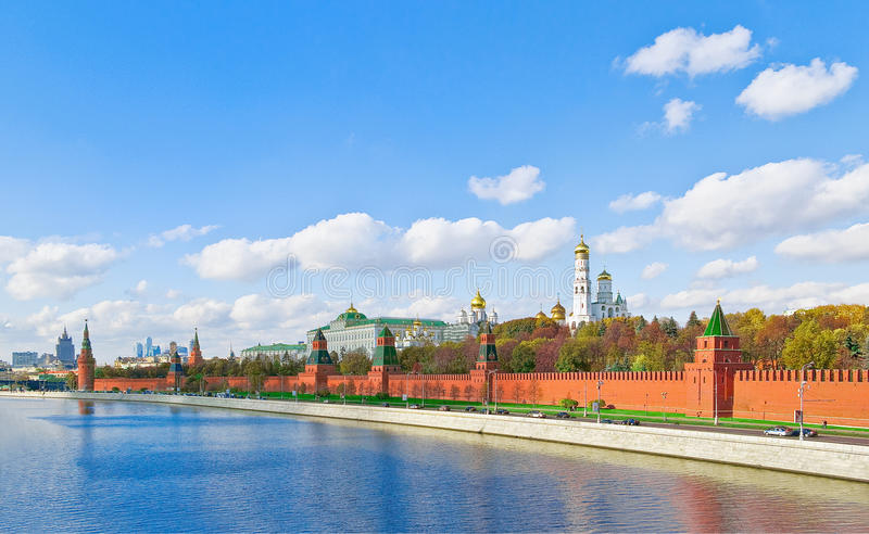 Moscovo Kremlin foto de stock royalty free
