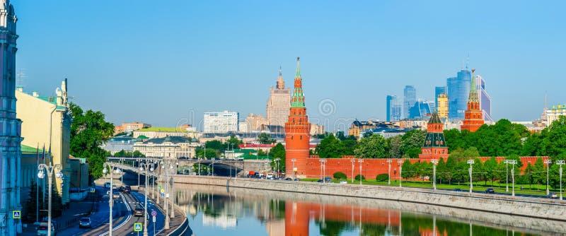 Moscovo Kremlin na manhã imagem de stock royalty free