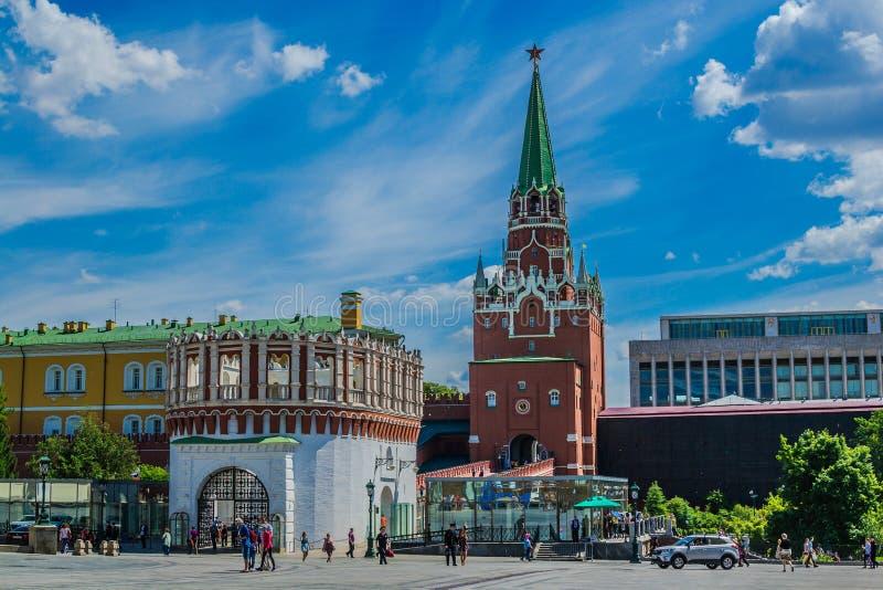 A Moscovo Kremlin foto de stock