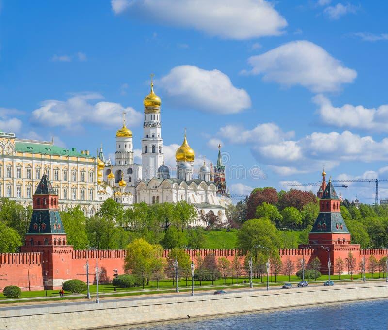 Moscovo Kremlin, Rússia fotografia de stock royalty free