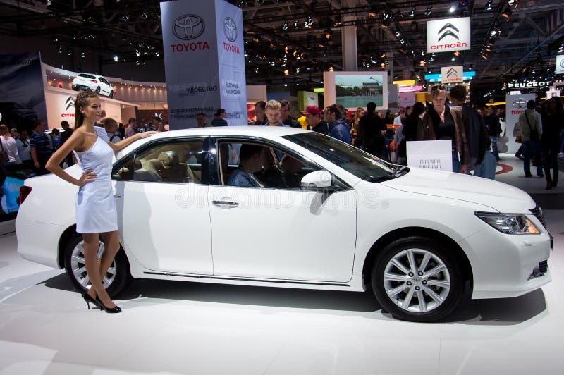 Download Moscovo MotorShow Internacional Setembro 8.2012 Imagem de Stock Editorial - Imagem de movimentação, novo: 26521634