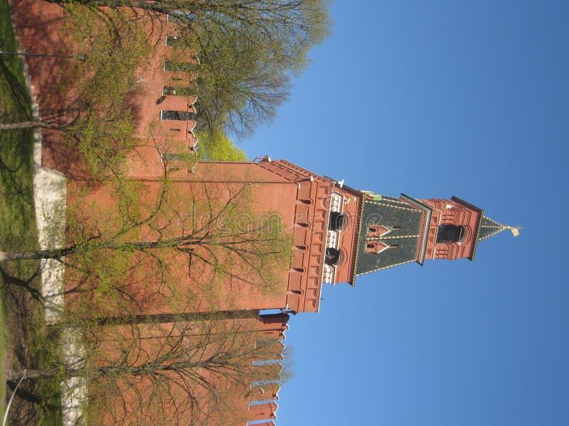 Moscovo, Rússia, torre de Kremlin imagens de stock royalty free