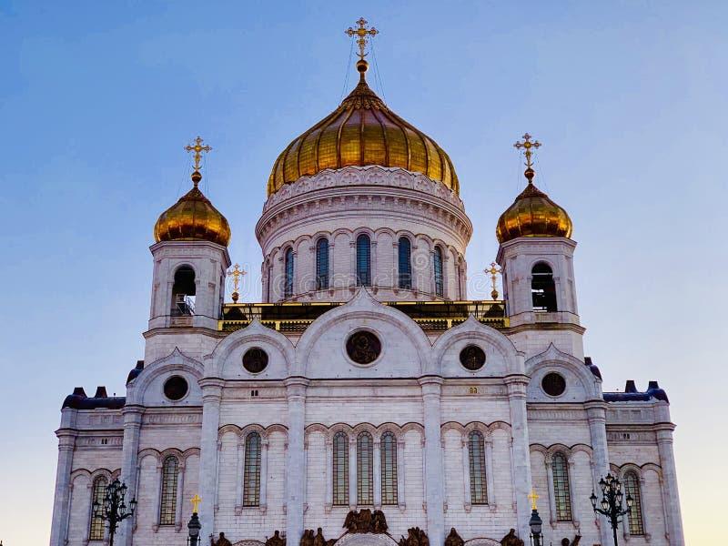moscow спаситель christ собора стоковые фотографии rf