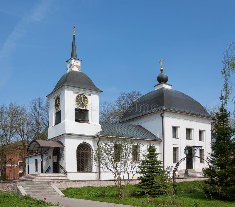 moscow Россия Церковь предположения благословленной девственницы в Alexandrovo-Shchapovo стоковые фото