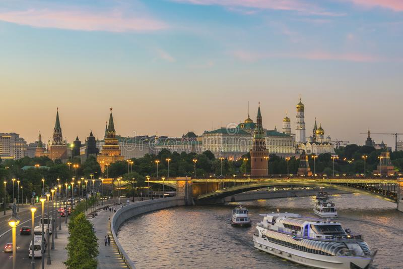 moscow Россия стоковые фотографии rf