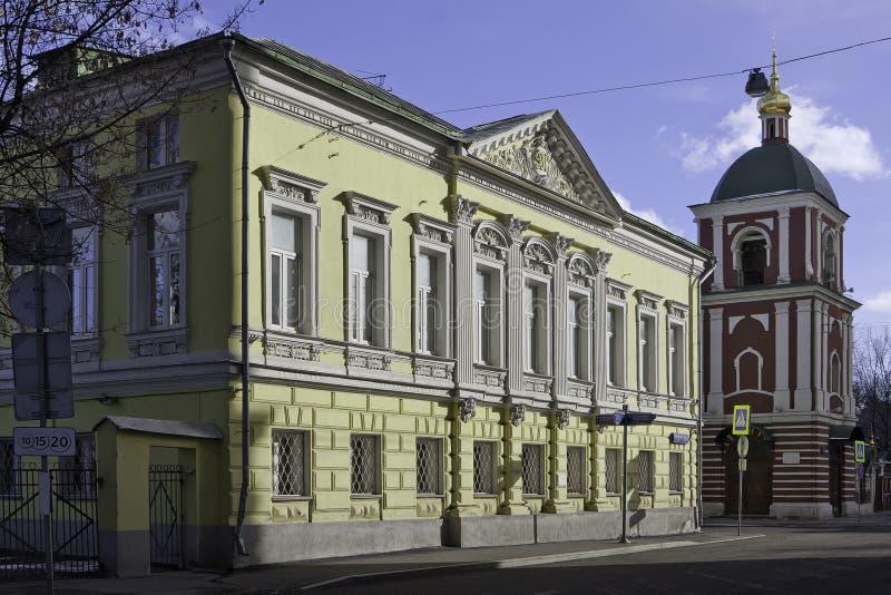 moscow Россия M g Дом Levina на улице Goncharnaya никакой 27/6 в Москве стоковые фото