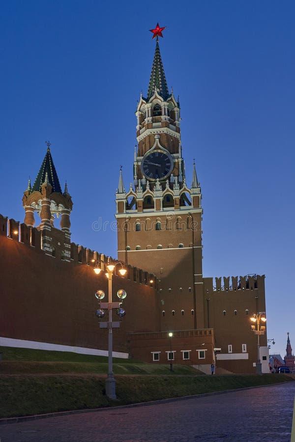 moscow Спуск Vasilyevsky от красной площади стоковое фото rf