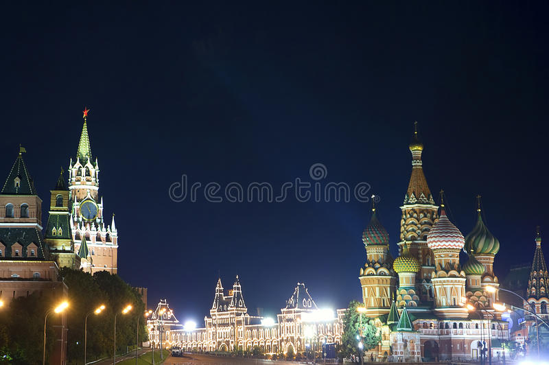 moscow royaltyfri fotografi