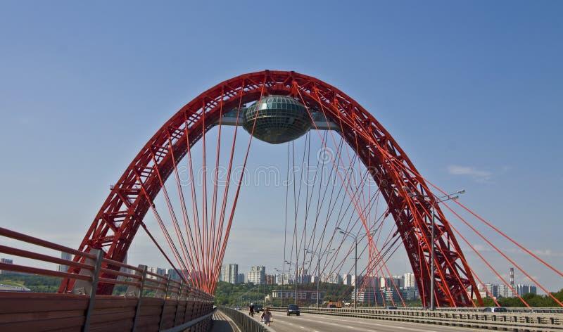moscow bridżowy pictorial obraz royalty free