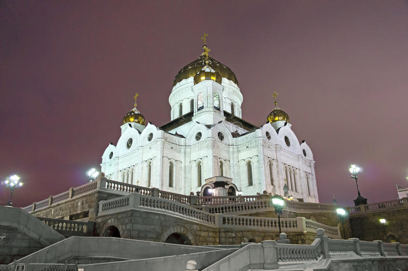 Download Moscow, Cathedral Of Christ The Saviour Stock Image - Image: 23027781