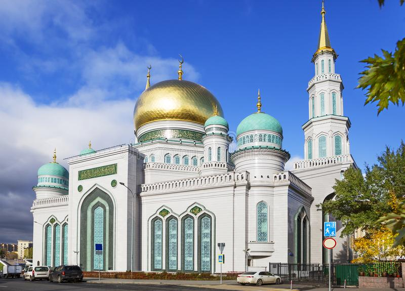 The Moscow Cathedral mosque. royalty free stock photos
