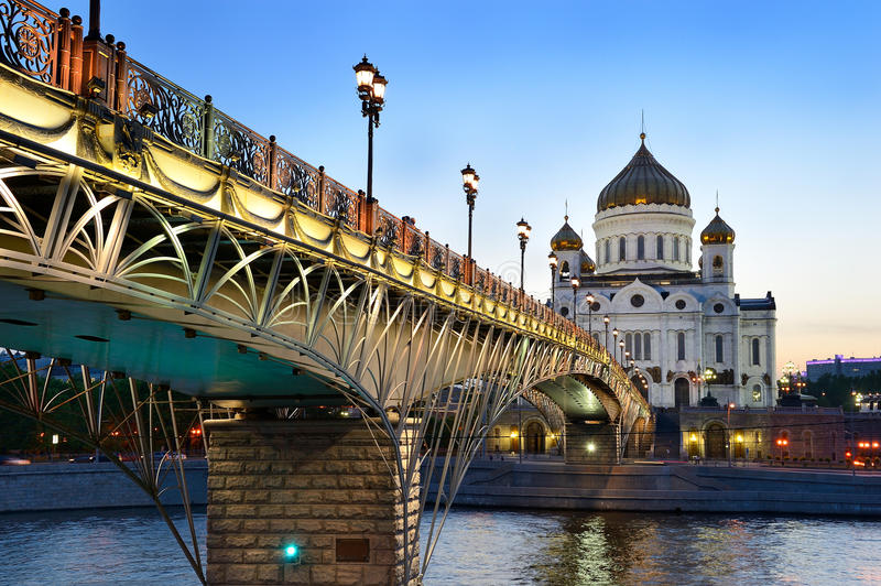 Moscow churches stock images
