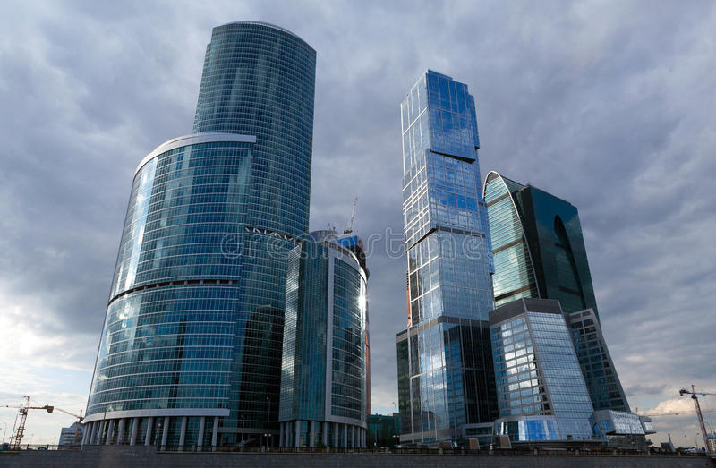 Download Moscow City stock image. Image of contemporary, design - 25143545
