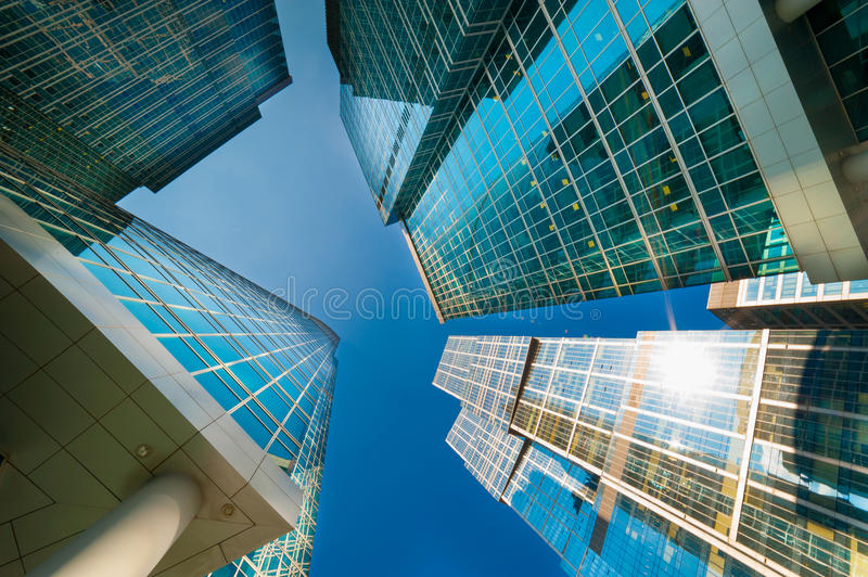 Download Moscow City stock image. Image of landmark, growth, perspective - 32864933