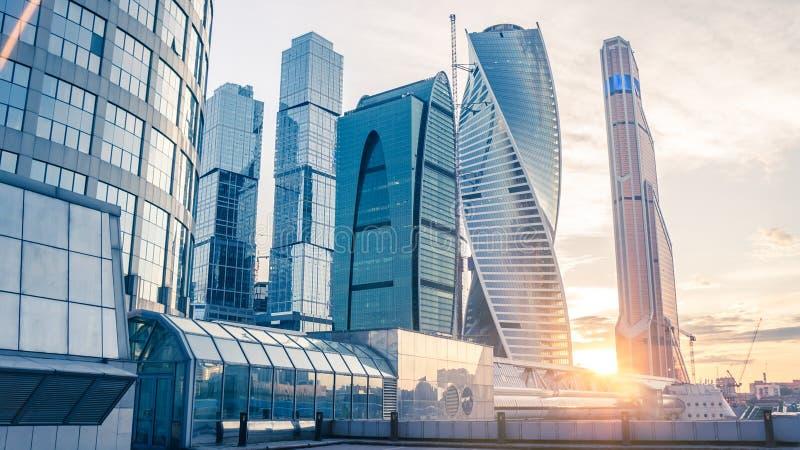 Moscow city stock photos