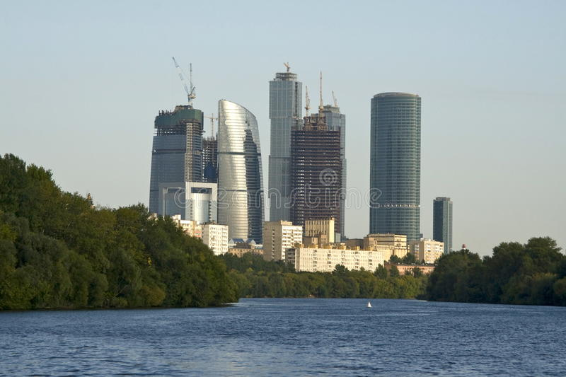 Download Moscow-city Business Center Stock Photo - Image: 18338942