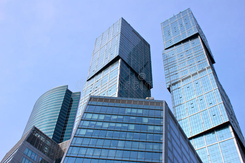 Moscow City Business Centre stock photography