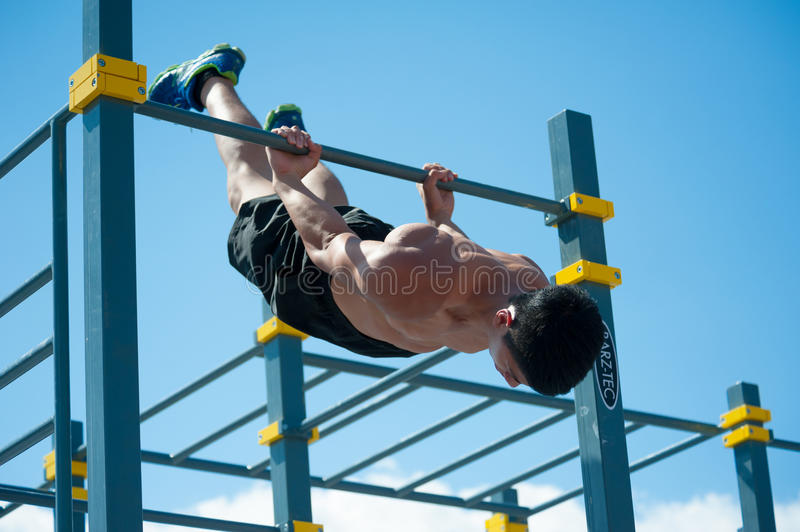 Download Moscow City Games editorial photography. Image of exercise - 43077682
