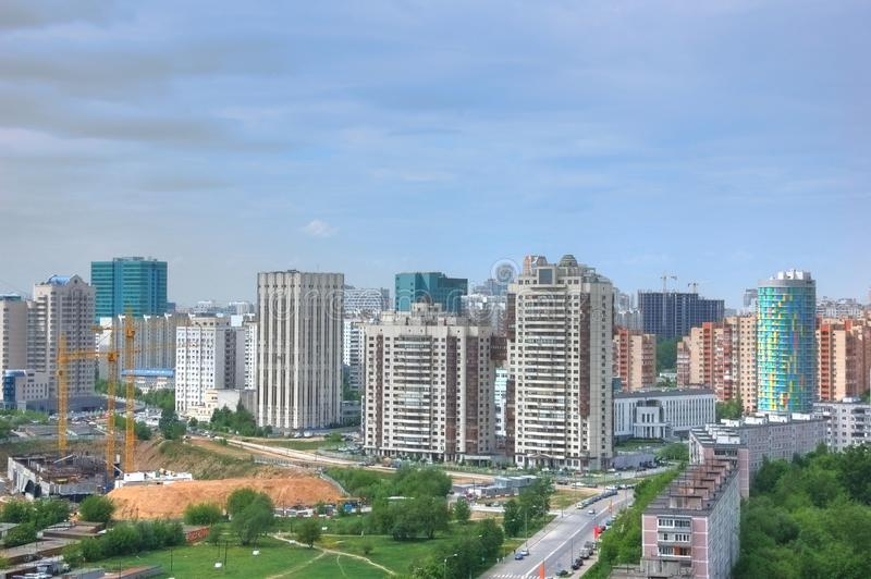 Download Moscow city landscape stock photo. Image of build, european - 14897144