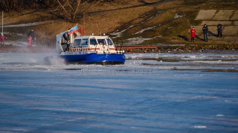 moscow EMERCOM & x22; icebreaker& x22; стоковое изображение