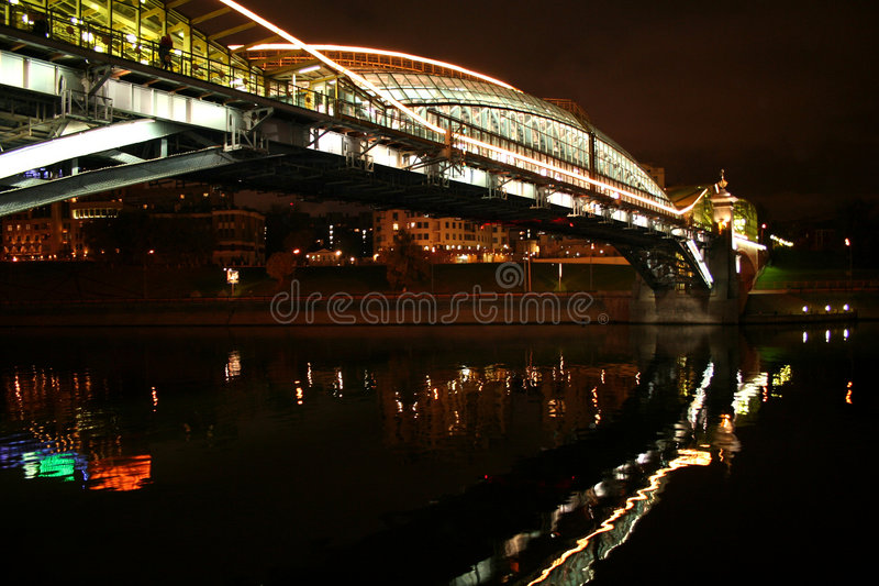 Moscow. evening stock photography