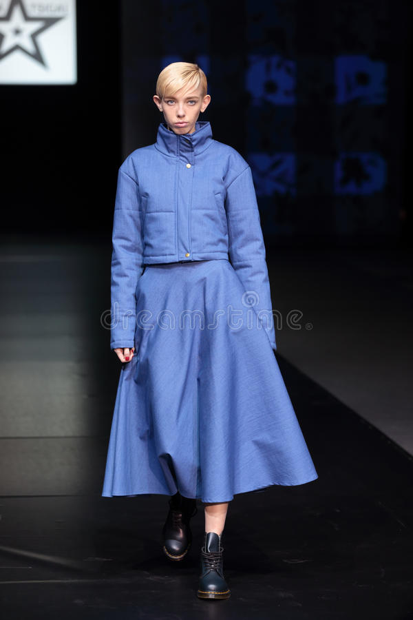 Download Moscow Fashion Week editorial image. Image of modern - 41741690