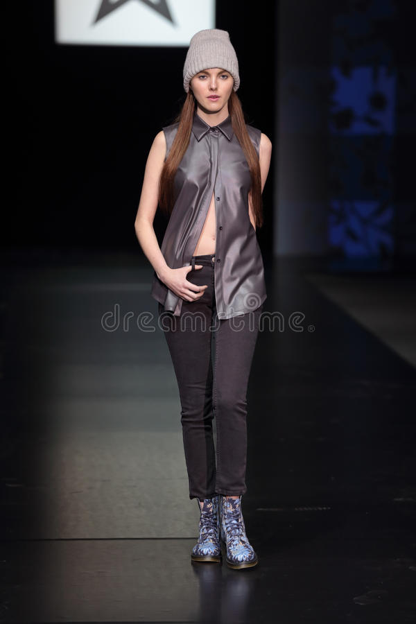 Moscow Fashion Week Editorial Photo