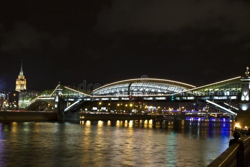 Download Moscow, Kievskiy (Bogdana Hmelnitskogo) Bridge Stock Photo - Image: 22290310