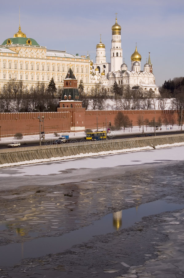 The Moscow Kremlin royalty free stock images