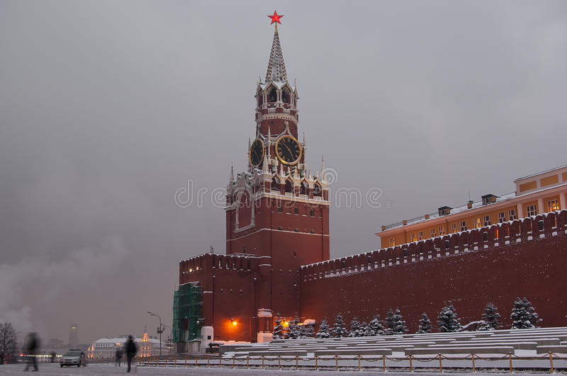 Download Moscow Kremlin stock photo. Image of square, capital - 26639084
