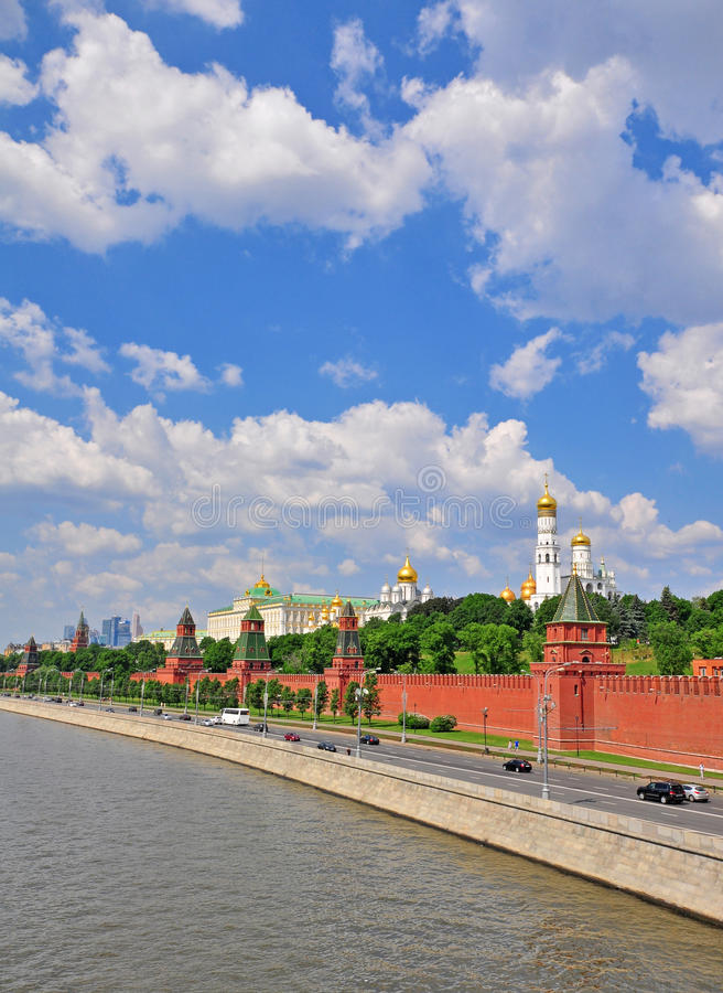 Download Moscow Kremlin And City Centre Stock Photo - Image: 40968406