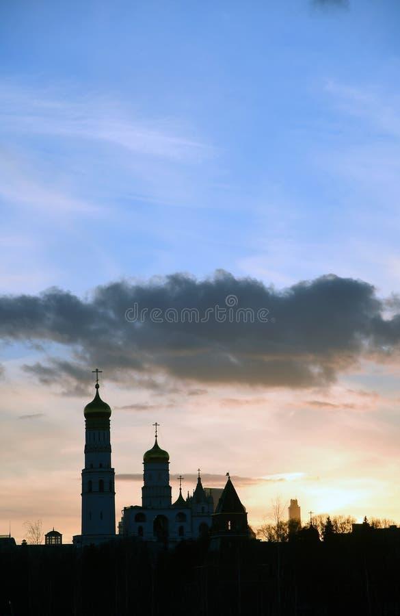 Moscow Kremlin. UNESCO World Heritage Site. Moscow Kremlin, a popular touristic landmark. UNESCO World Heritage Site stock photos
