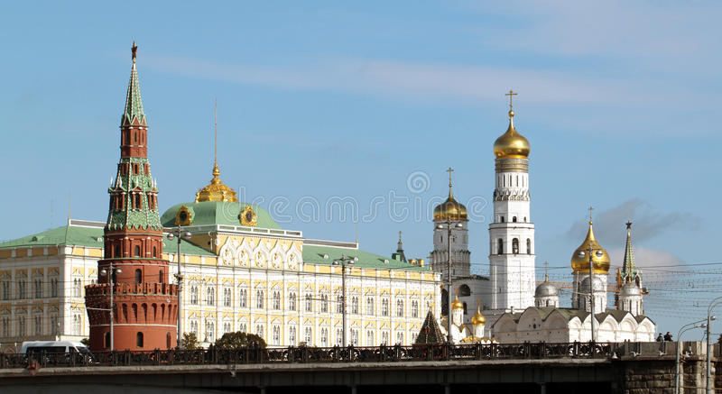 Download Moscow Kremlin views stock photo. Image of buildings - 34228116