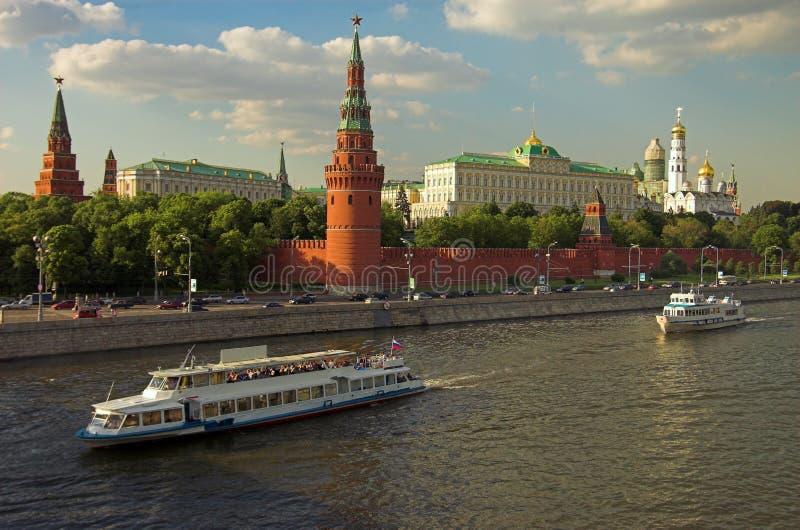 Moscow Kremlin wall royalty free stock photo