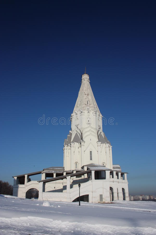 Download Moscow, Manor Kolomenskoe. Church Of The Ascension Stock Photo - Image: 23023442