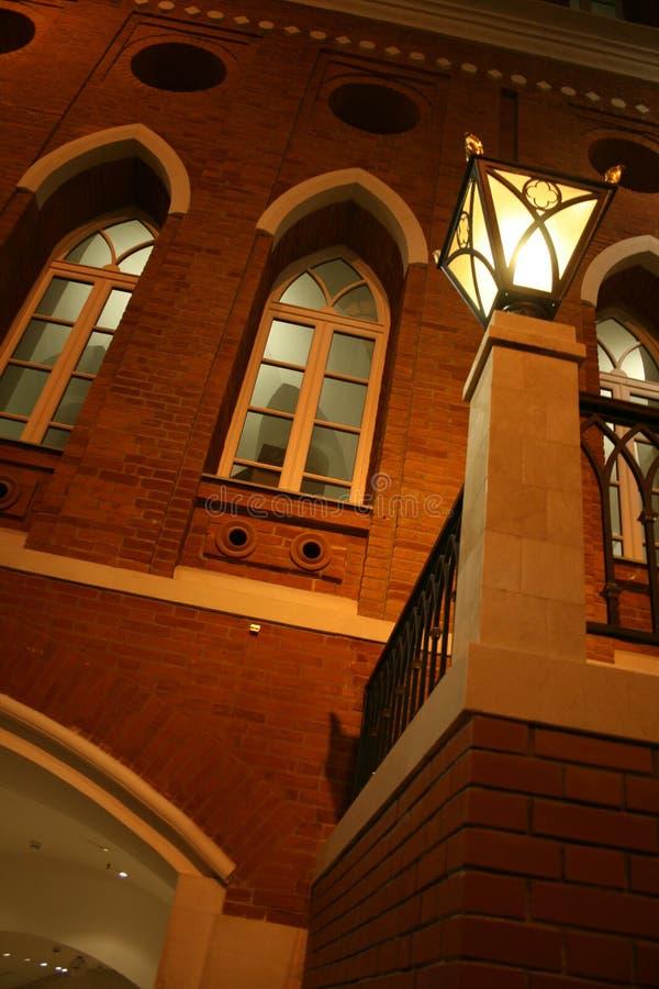 moscow natttsaritsyno fotografering för bildbyråer
