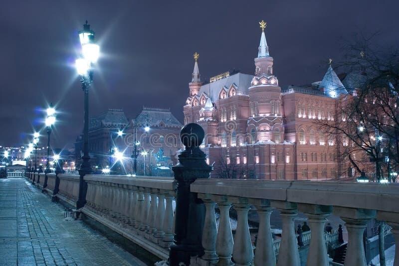 Moscow night landmark