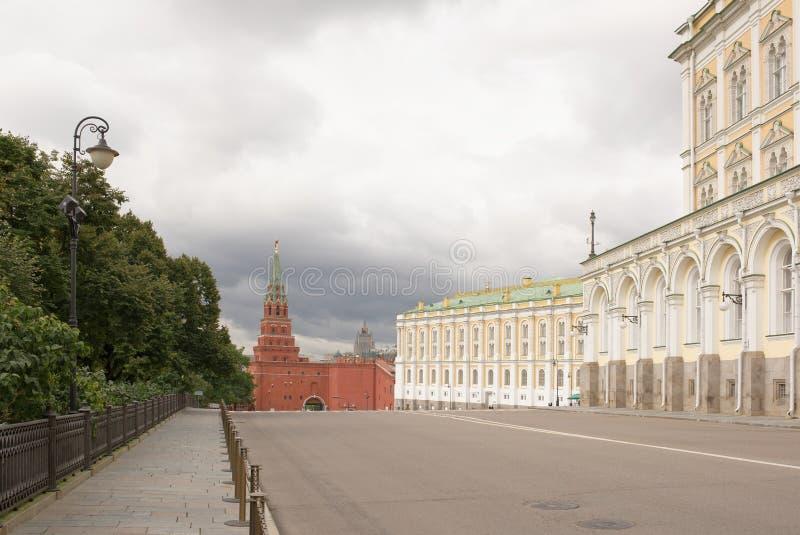 moscow O arsenal do Kremlin é um dos museus os mais velhos, estabelecido dentro imagem de stock royalty free