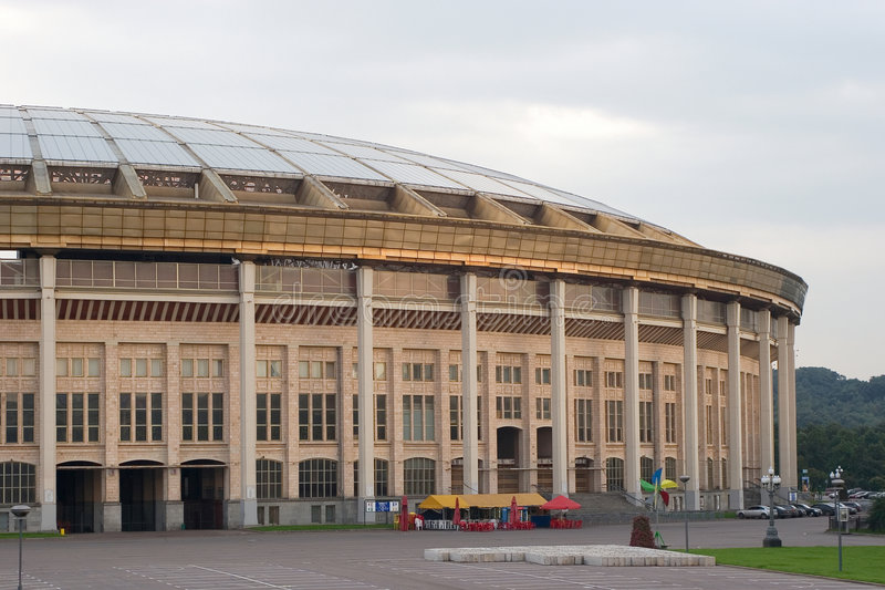 Download Moscow Olympic Stadium Royalty Free Stock Photography - Image: 1170467